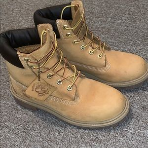 Timberland Boots Size 5 Youth